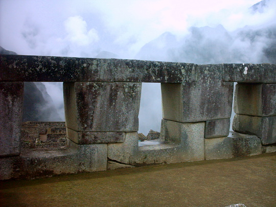 Templo de las tres ventanas, Machu Picchu, Peru