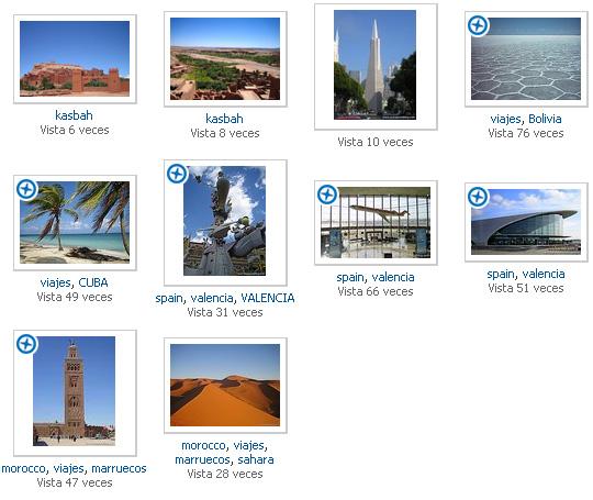 Fotos de Panoramio seleccionadas para Google Earth