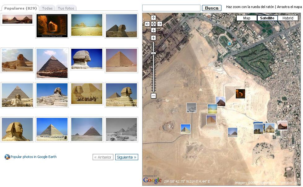 Fotos de Panoramio de las Piramides de Egipto
