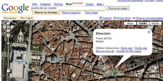 captura de google earth