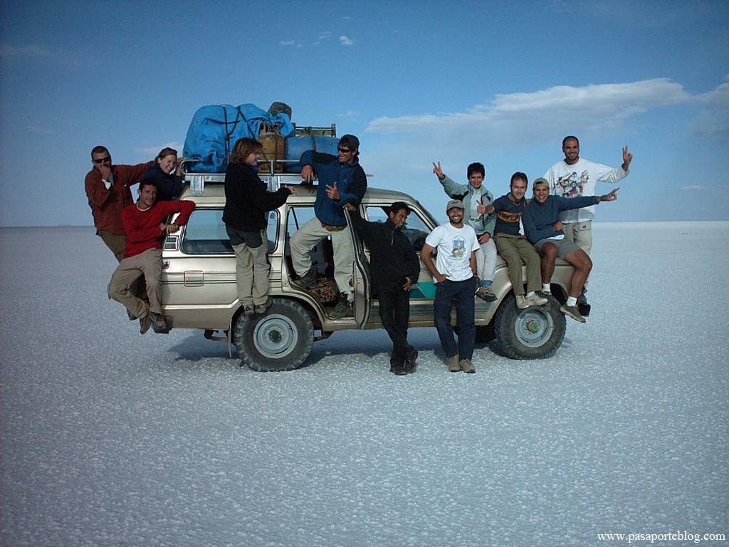 Todoterreno 4x4 Salar de Uyuni, Bolivia