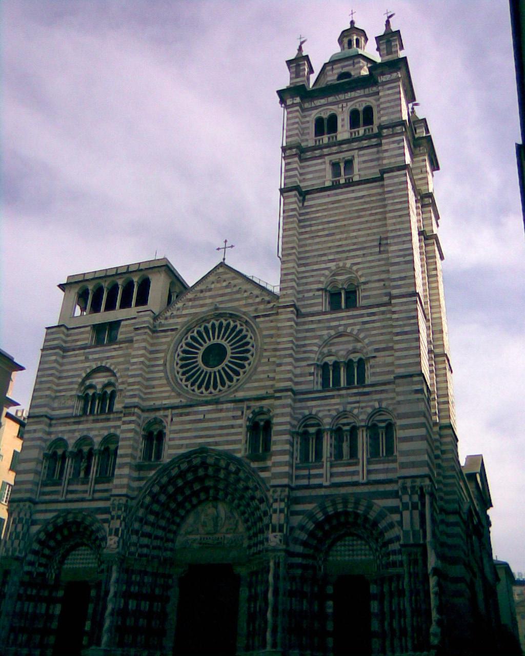 Catedral de Génova, Centro Historico, Italia