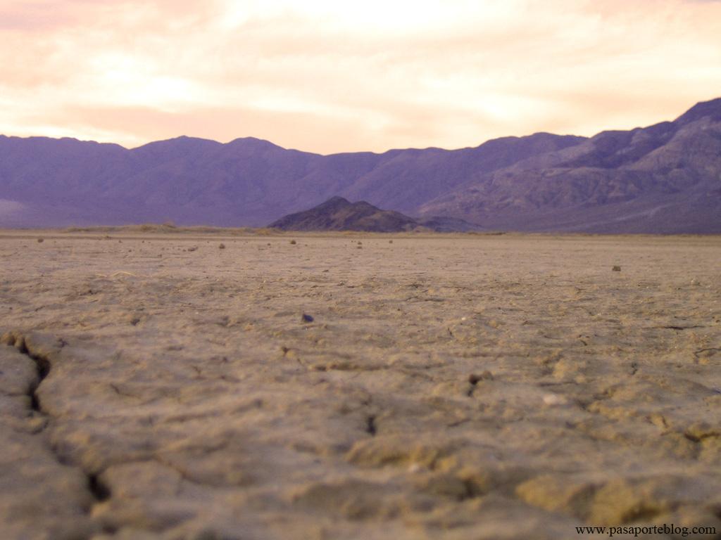 Death Valley al atardecer, California Nevada