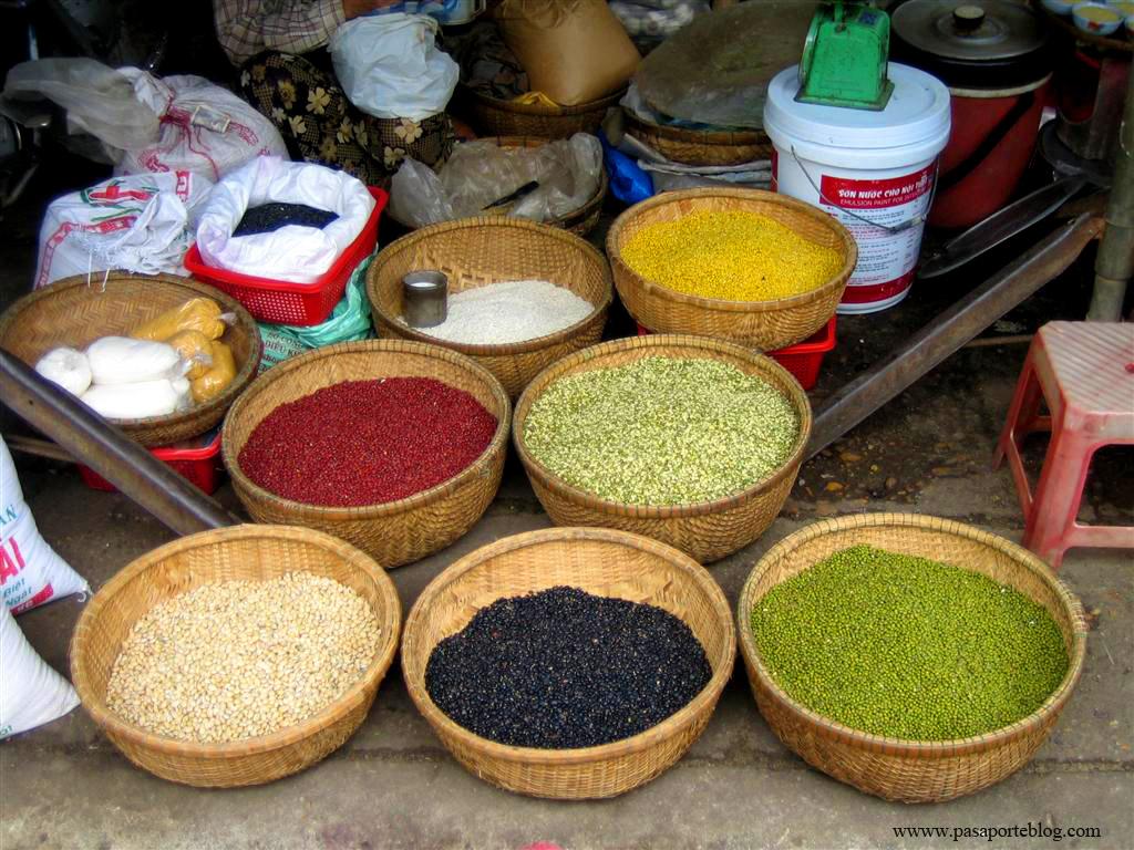 Legumbres Mercado de Hoi An, Vietnam