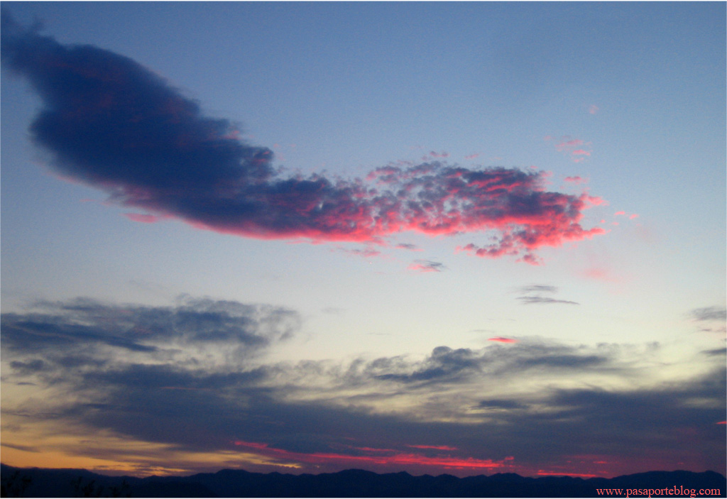 Puesta de Sol en Death Valley, California, Nevada