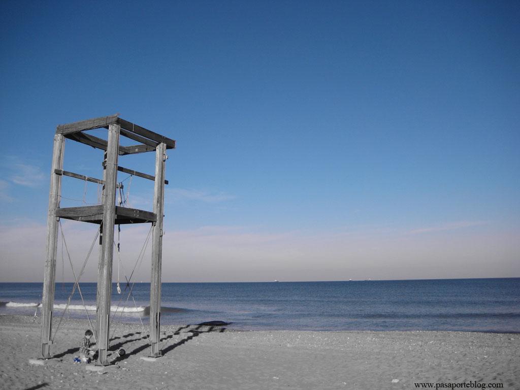 Playa de El Saler, Parque Natural de la Albufera, Valencia