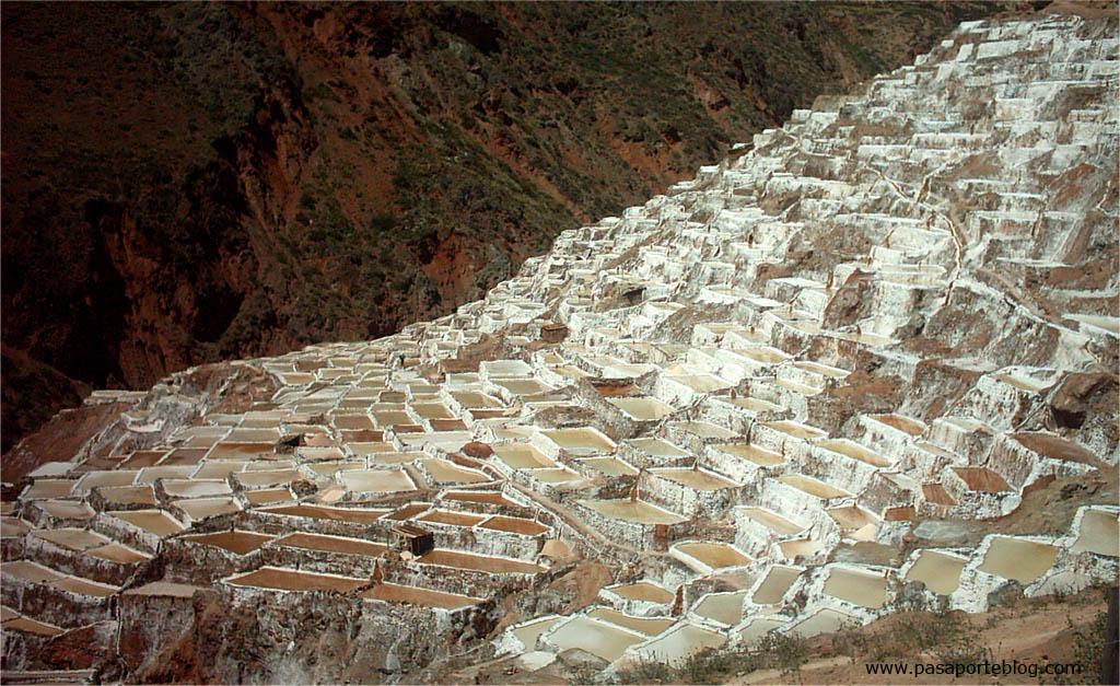 Minas de sal de Maras, Cuzco, Peru