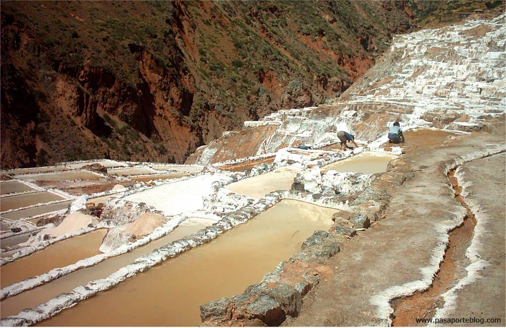 Minas de sal de Maras, Cuzco, viaje por Peru