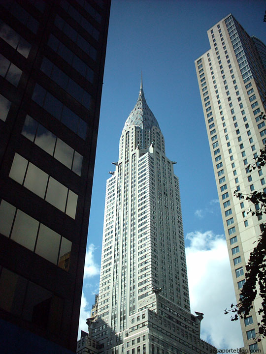 rascacielos entre rascacielos chrysler building new york