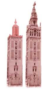 La Giralda original era más baja que la actual. Foto: guiarte.com