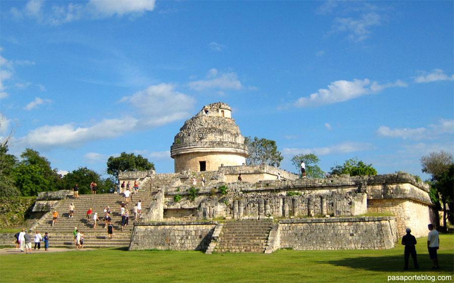Observatorio Chichen Itza Mayas Mexico