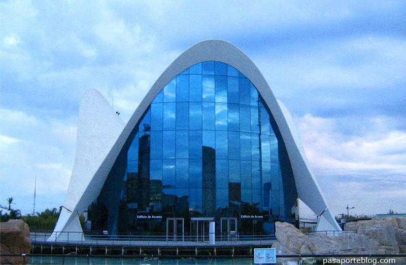L'Oceanografic Ciutat de les Arts i les Ciencies Valencia