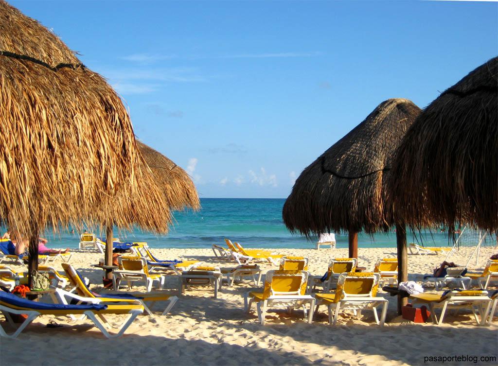 playa del hotel resort iberostar paraiso maya playa del carmen mejico
