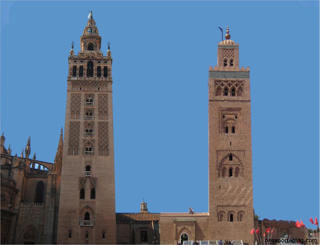 La Giralda y la Kutubia, una misma torre, dos religiones
