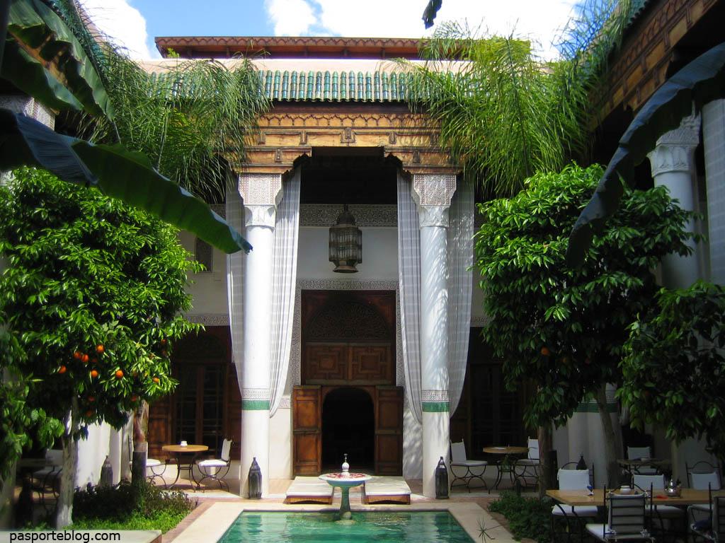 Riad Slitine en Marrakech, Marruecos