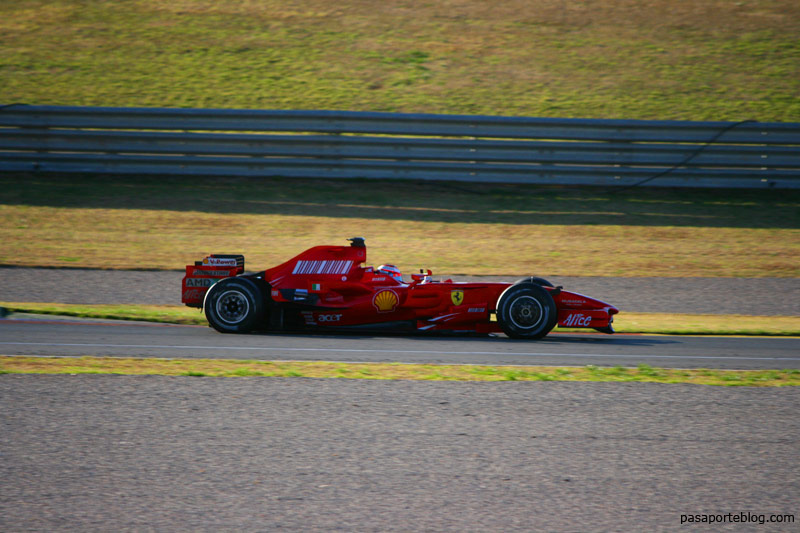 Ferrari en Valencia, formula 1