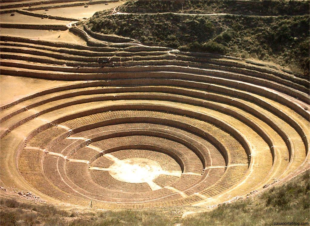 Terrazas de Moray, investigación Inca, Cuzco, viaje Peru