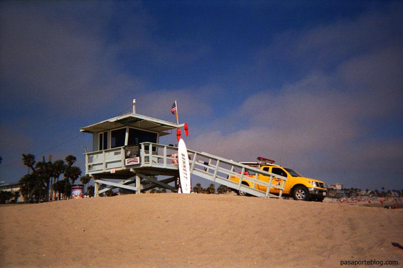 Playa de Santa Monica, Los Angeles, California, Estados Unidos