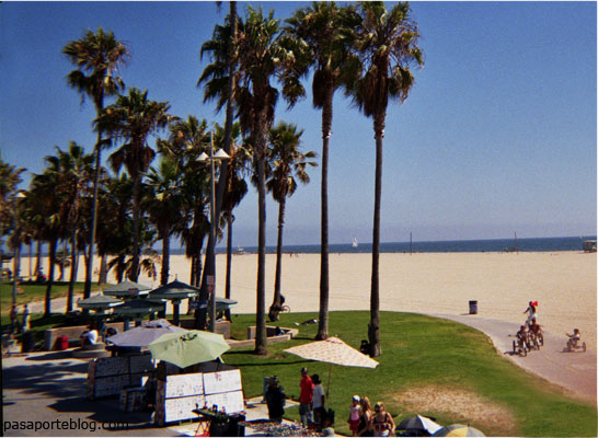 Venice beach, una de las playas de Los Angeles