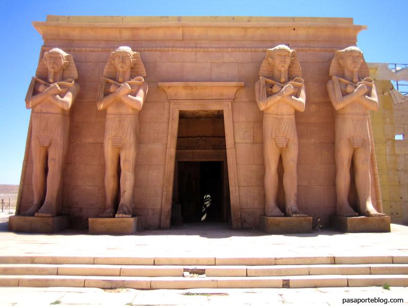 Cleopatra, Atlas Studios, Ouarzazate, ruta de las caravanas, Marruecos