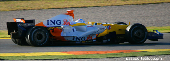 Fernando Alonso Valencia Street Circuit, formula 1 valencia f1