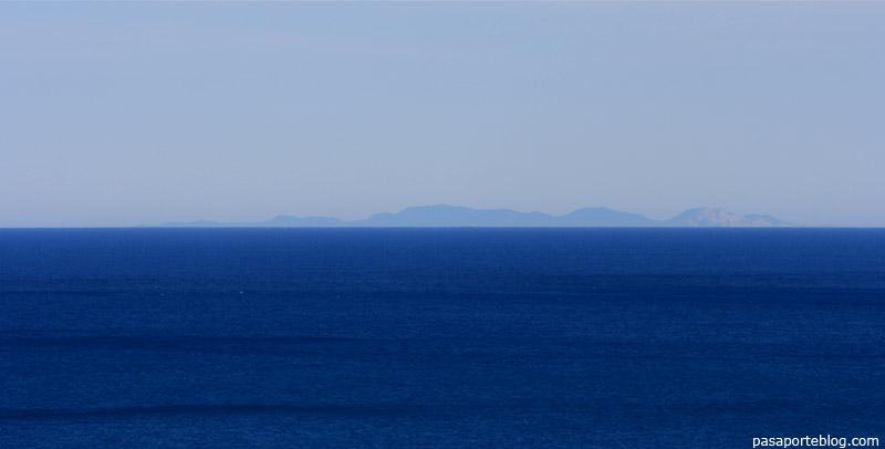 Ibiza desde el Cabo de la Nao, Javea, España