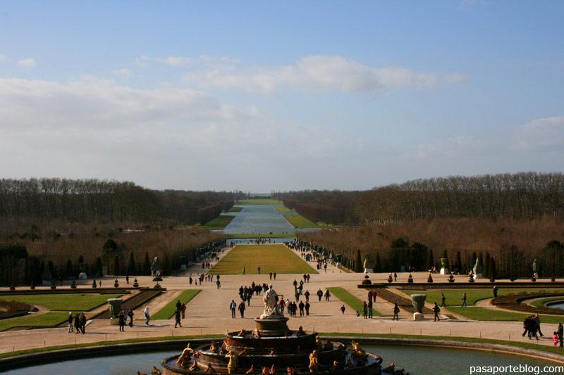 Jardines de Versalles, Palacio de Versalles, Paris viaje
