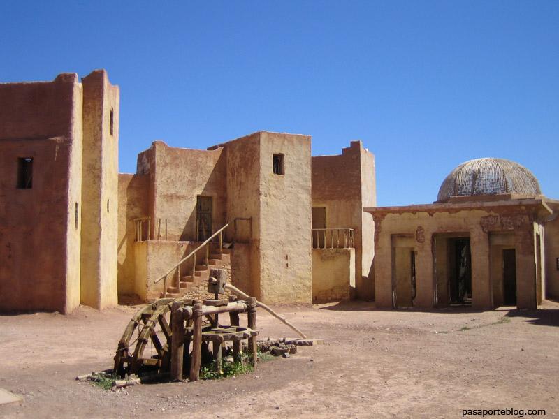 Los Diez Mandamientos Atlas Studios, Ouarzazate, ruta de las caravanas, Marruecos