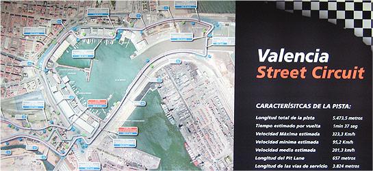 Valencia Street Circuit, formula 1 valencia f1
