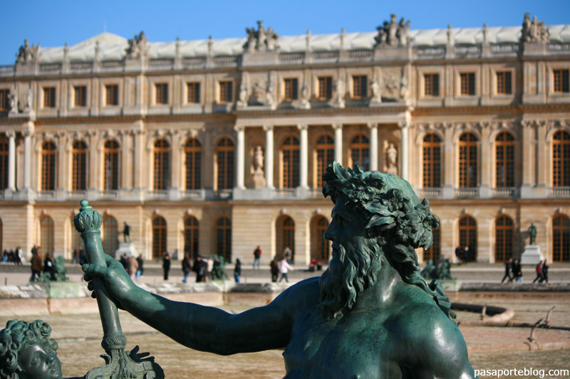 El Palacio de Versalles, viaje a Paris, Francia