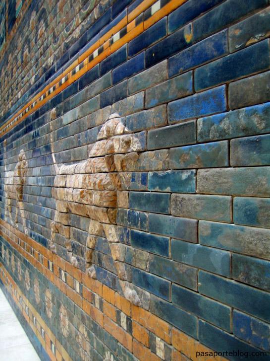 Las puertas de Babilonia, puerta de istar, museo del Pergamo, viaje a Berlin.
