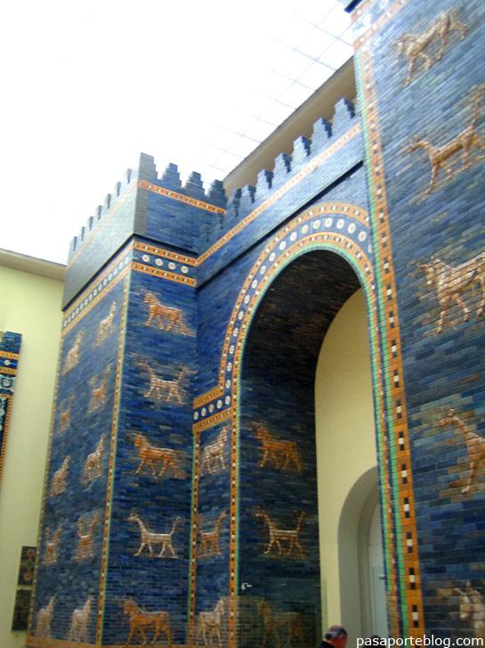 puertas de babilonia, mueso del pergamo, berlin