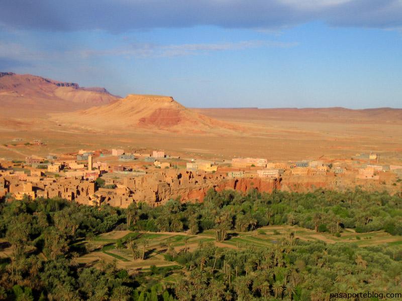 La Garganta de Todra ciudad de Tinerhir, viaje a Marruecos