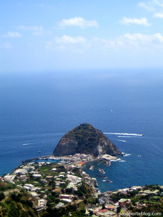 vista panoramica Isla de Ischia Italia