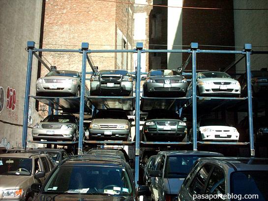 aparcamiento en nueva york