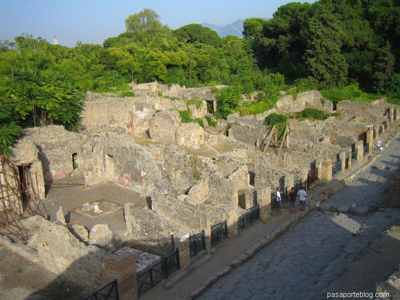 pompeya, casas patricias