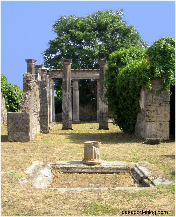 casa romana en pompeya