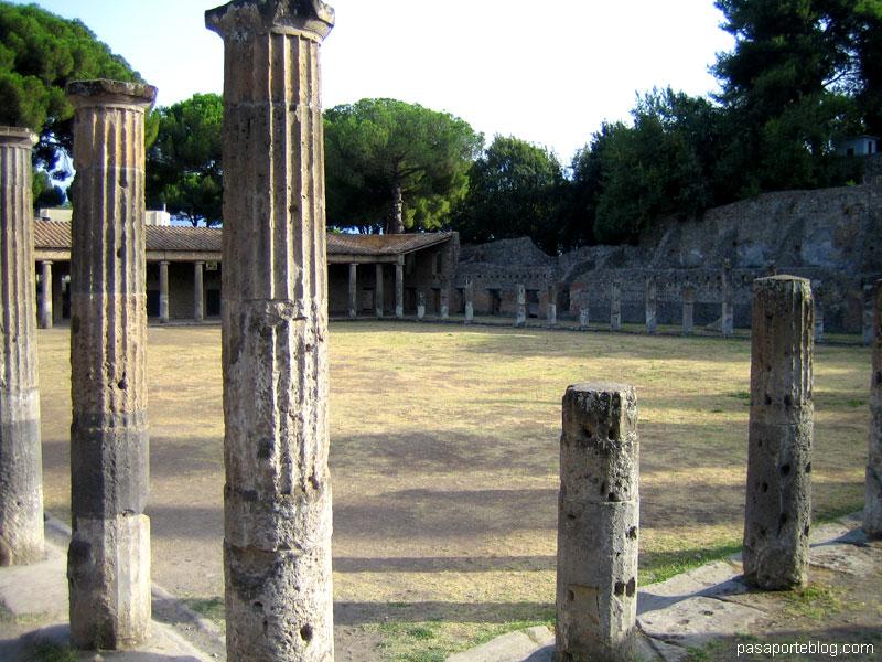 Gladiadores en Pompeya