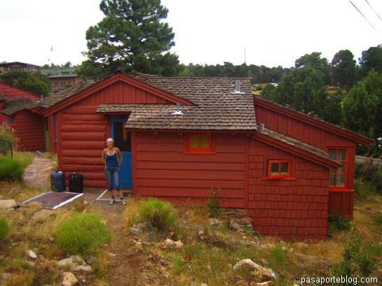 Cabaña en el Gran Cañón del Colorado
