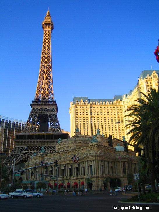 Hotel Paris Las Vegas, viaje Estados Unidos