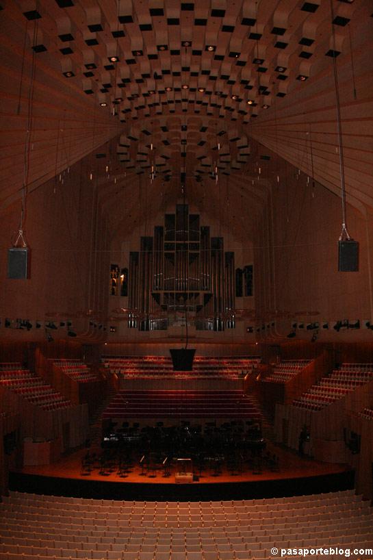 Interior de la Opera de Sidney