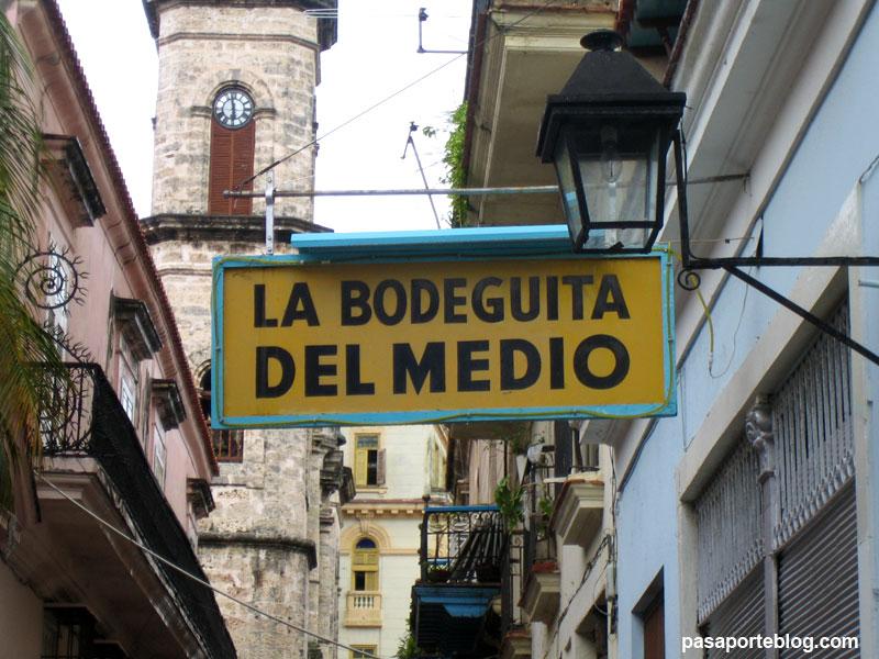 La Bodeguita del Medio, Habana vieja, Cuba