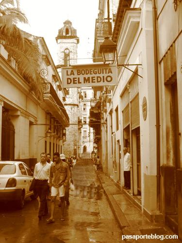 La Bodeguita del Medio, Habana vieja, viaje a Cuba