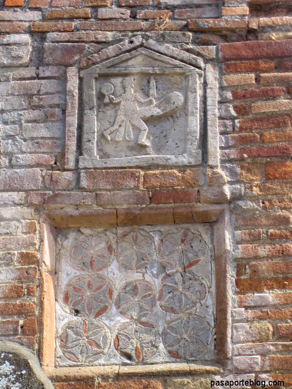 señal de trafico pompeya