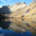 Ibón de Llardaneta, ruta tres refugios, Pirineos