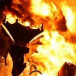 Dragón y fuego