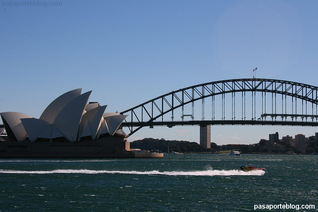 Opera House y Sidney Harbourg Bridge Sidney, Australia