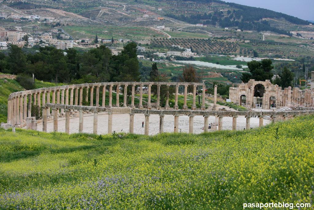 Jerash Foro Romano Jordania