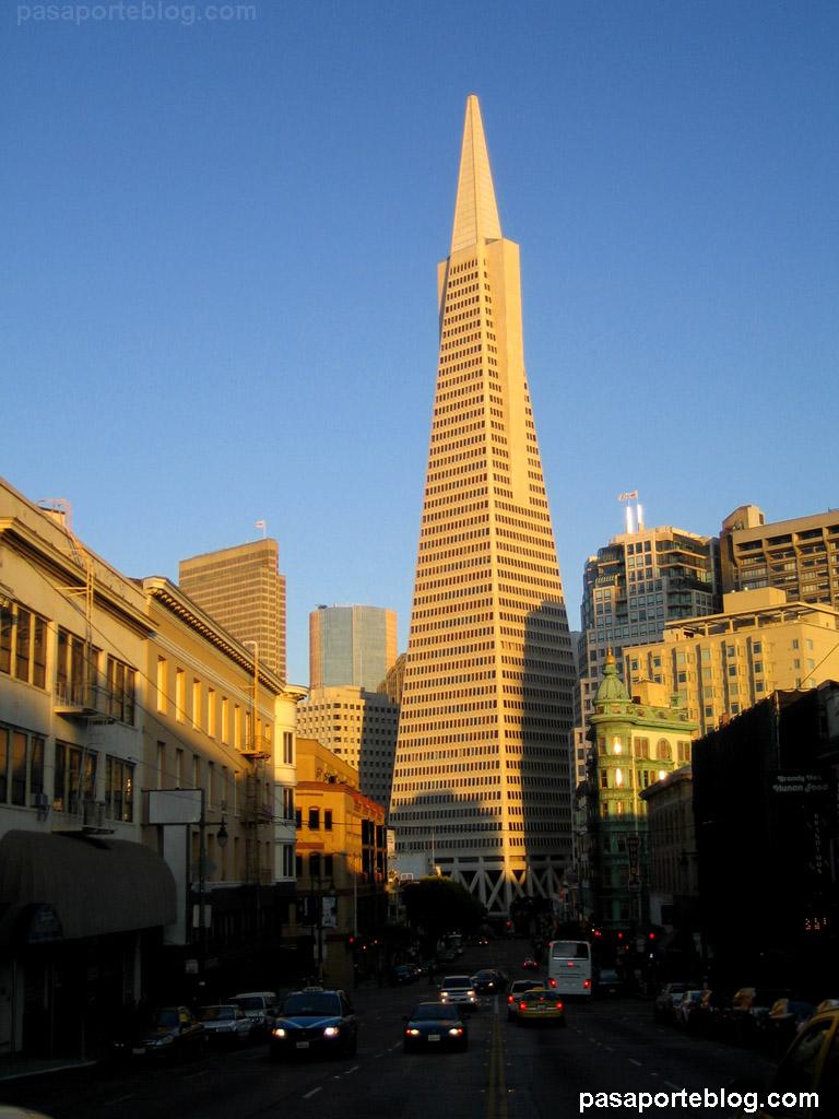 Rascacielos Piramide Transamericana San Francisco