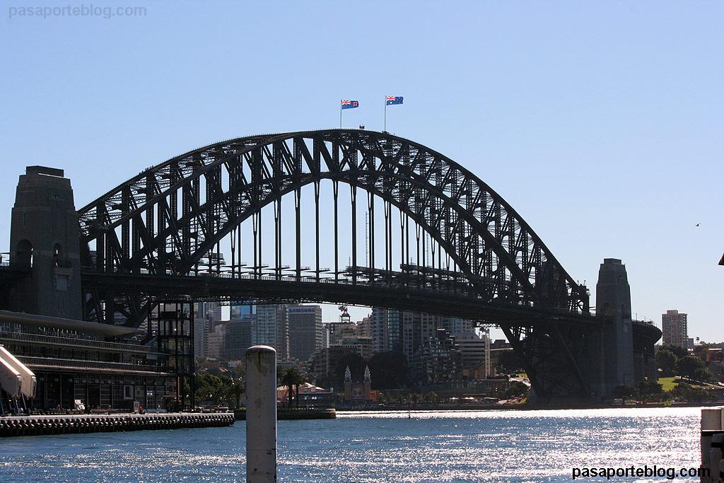 Puente de Sidney (Sydney Harbourg Bridge) Australia